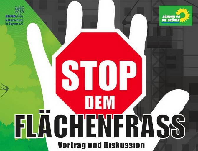 Stopp dem Flaechenfrass