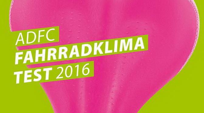 ADFC Fahrradklimatest 2016 – Bitte teilnehmen